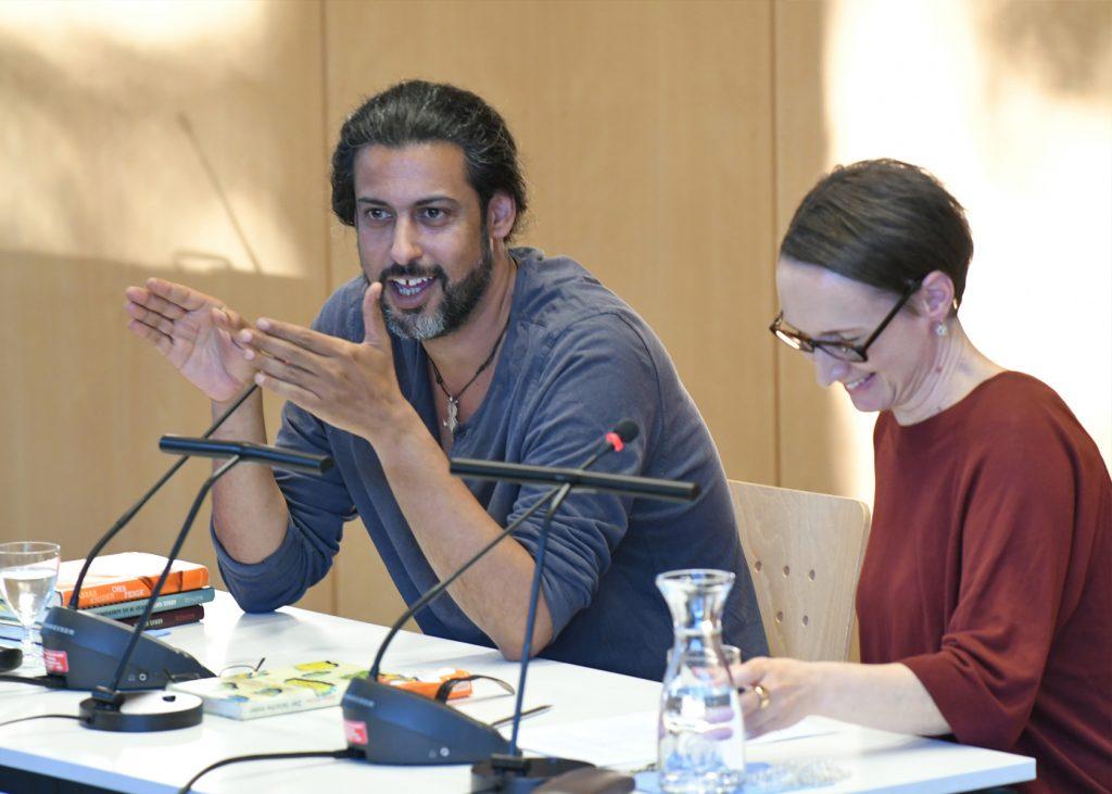 Abbas Khider im Gespräch mit Claudia Kramatschek