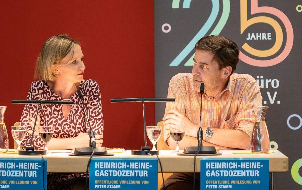 Gastdozentur Peter Stamm
