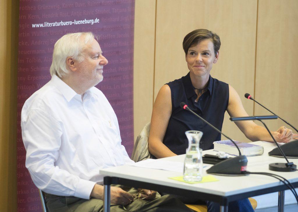 Antje Rávic Strubel mit Gespräch mit Wend Kässens